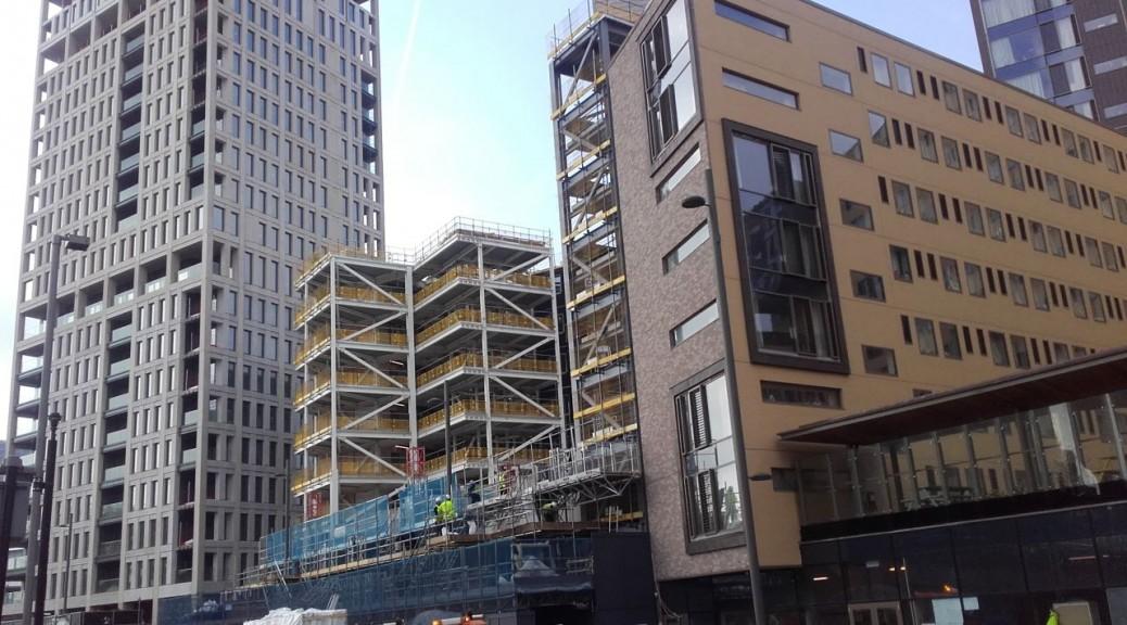 London Moxy hotel Stratford